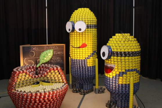 canstruction minions