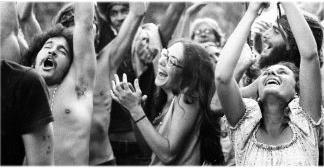 hippie danse